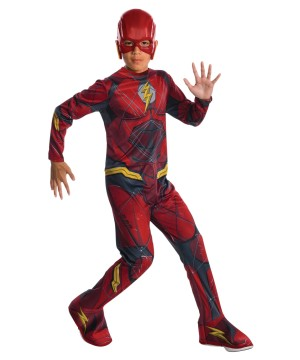 Boys Justice League Flash Costume