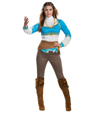 Breath of the Wild Zelda Women Costume