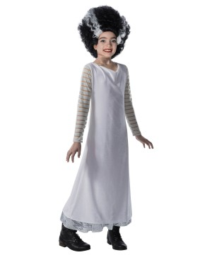 Bride of Frankenstein Girls Costume