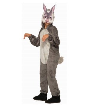 Bunny Jumpsuit With Mask Boy Costume