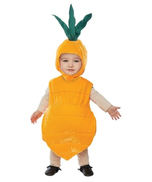 Carrot Toddler Costume