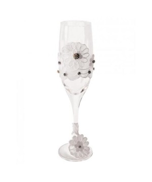Champagne Glass White