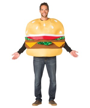 Cheeseburger Slider Costume