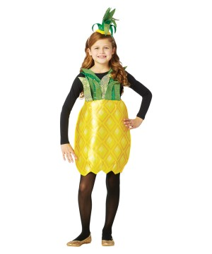 Child Pineapple Dress