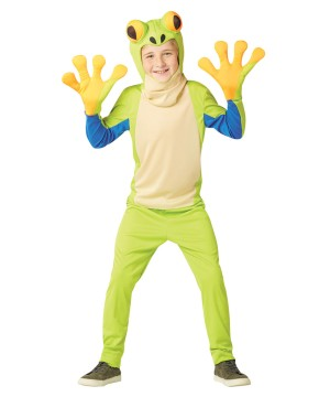 Kids Tree Frog Costume
