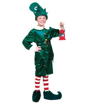 Kidss Holly Jolly Elf Costume