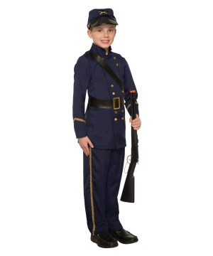 Boys Civil War Union Soldier