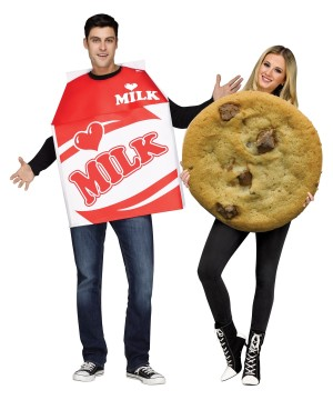 Cookies and Milk Couples Costume
