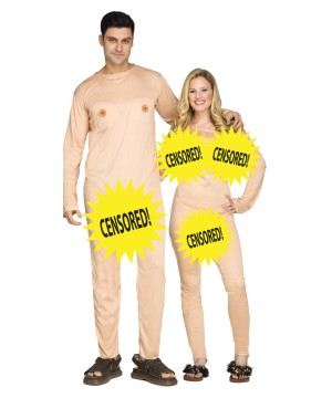 Couples Nude Censored Adult Costume