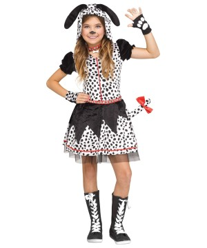Dalmatian Doll Girl Costume