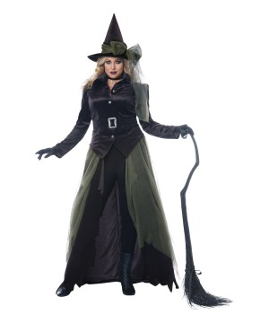 Gothic Dark Witch Women plus size