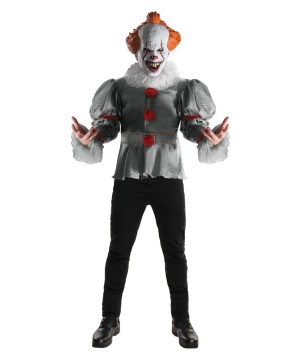 Deluxe Pennywise Costume Adult  sc 1 st  Wonder Costumes & Humorous Clown Costumes for adults u0026 plus size costumes - Funny ...