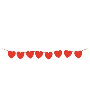 Red Hearts Decorative Diamond Banner