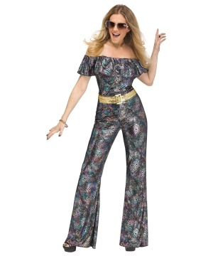 Disco Dancer Women Costume