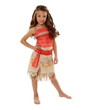 Disney's Moana Girls Costume