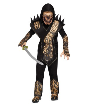 Boys Skull Dragon Ninja Costume