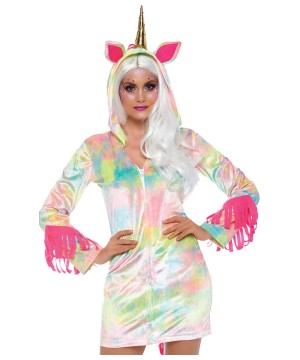 Womens Enchanted Unicorn Dress Costume