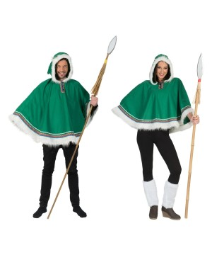 Eskimo Couples Costume Kit