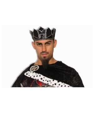 Dark Royalty Black King Crown