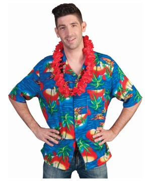 Hawaiian Shirt Treasure Island