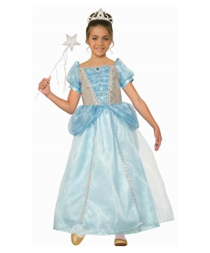 Girls Frost Fairy Princess Costume