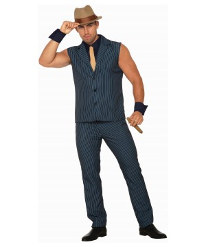 Tough Tony Gangster Men Costume