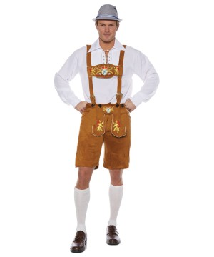Mens German Lederhosen Costume