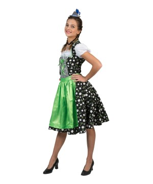German Womens Tirol Dress Edelweiss