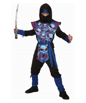 Ghost Ninja Boy Costume