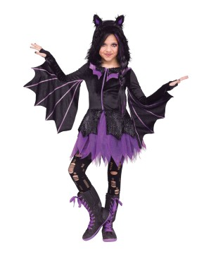 Girls Night Flyer Bat Costume
