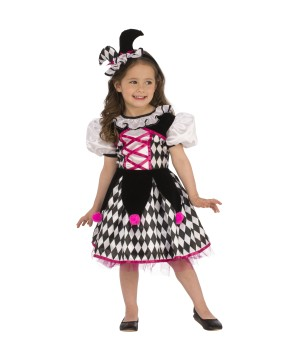 Girls Little Jester Costume