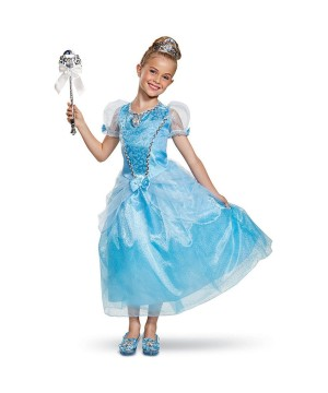 Girls Magical Cinderella Costume