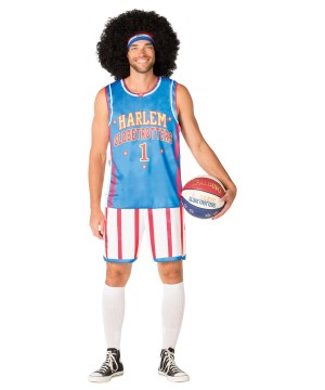 Mens Globetrotters Uniform Costume
