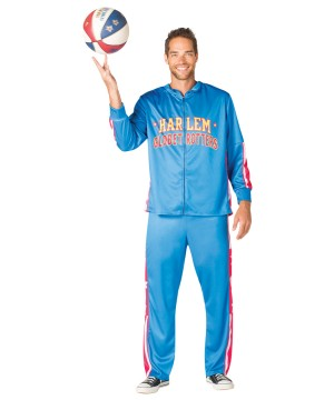Mens Globetrotters Warm up Costume
