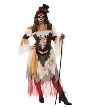 Gypsy Ghost Womens plus Costume