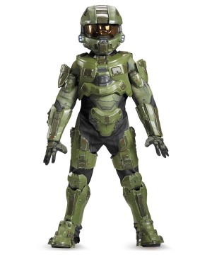 Halo Master Chief Boys Character Costume