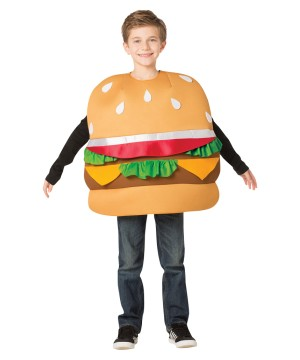 Hamburger Slider Costume
