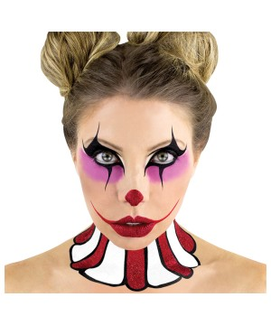 Harlequin Stencil and Makeup Kit