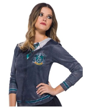 Harry Potter Women's Slytherin Costume Top
