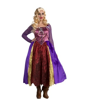 Hocus Pocus Inspired Witch Dress Silly Women Costume
