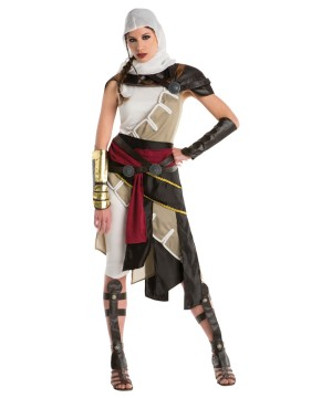 Hooded Female Warrior Costume