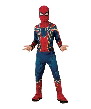 Infinity War Iron Spider Boys Costume