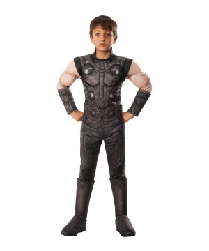 Infinity War Mighty Thor Boys Costume