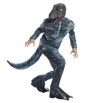 Jurassic World Mens Velociraptor Costume