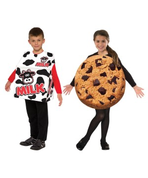 Kids Cookies and Milk Set Costume