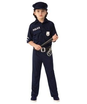Kids Cop Uniform