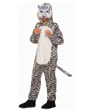 White Bengal Tiger Costume