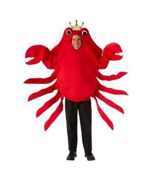 King Crab Mens Costume