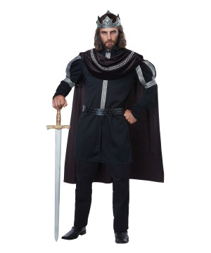 Dark Monarch Men plus size Costume
