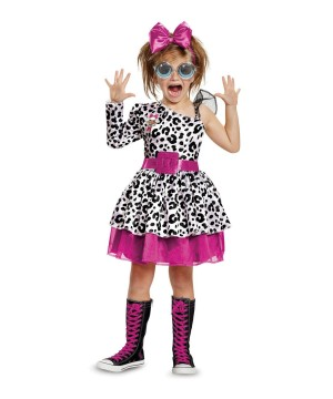 L.o.l Dolls Diva Toddler Girls Costume